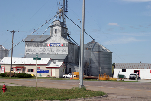 Grain, Coal & Hogs - Colome, SD - © Bob Kisken