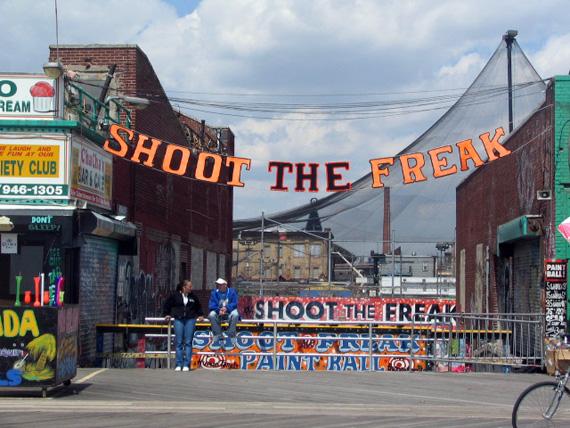 Shoot The Freak Coney Island