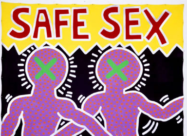 Safe Sex, Keith Haring