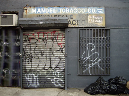 Mandel tobacco co inc july 2006 441 east 12th for Bank ballroom with beautiful mural nyc