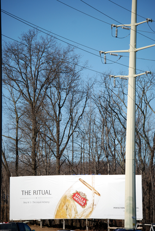 Middletown Ny: The Ritual Billboard
