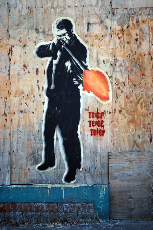 Wheatpaste Art – Portland, OR | Fading Ad Blog HAS MOVED!