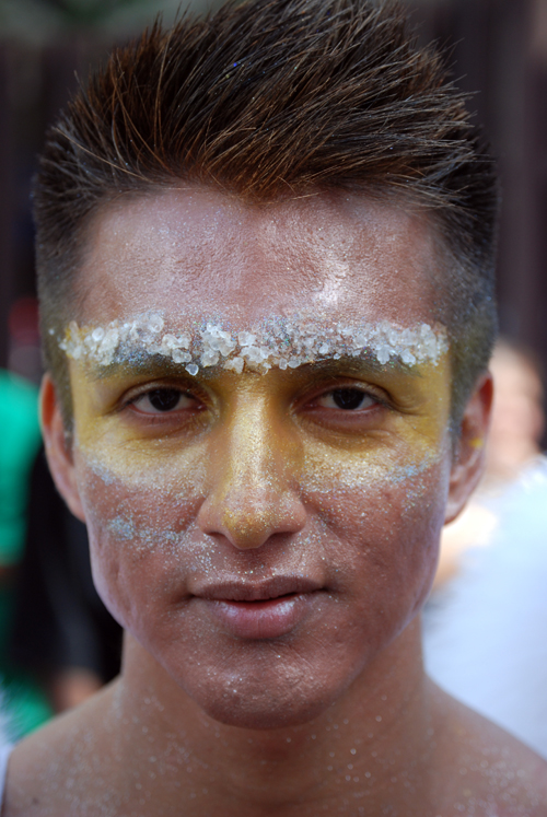 Gay Peruvian as Amazonian Angel.