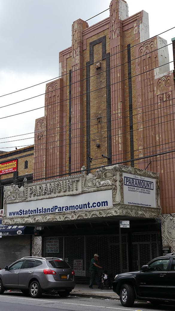 Paramount Theatre In Staten Island