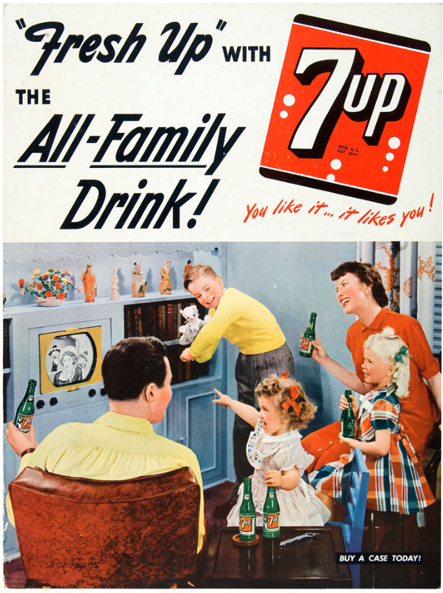 �fresh up� with 7up � the all family drink � richmond va