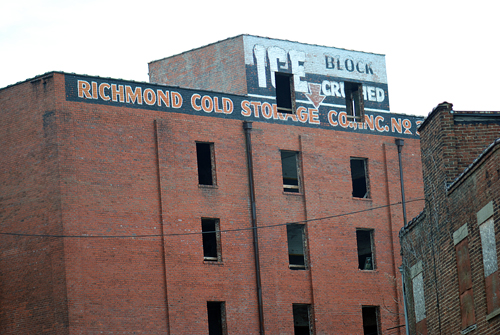 Richmond Cold Storage Co Inc Ice Plant Va Fading Ad Blog